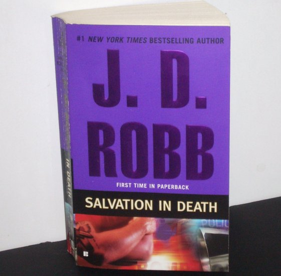 Salvation in Death by J.D. Robb ~ Eve Dallas Futuristic Mystery 2009