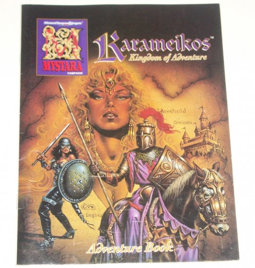 Karameikos Kingdom of Adventure Mystara Campaign Adventure Book 1994 TSR