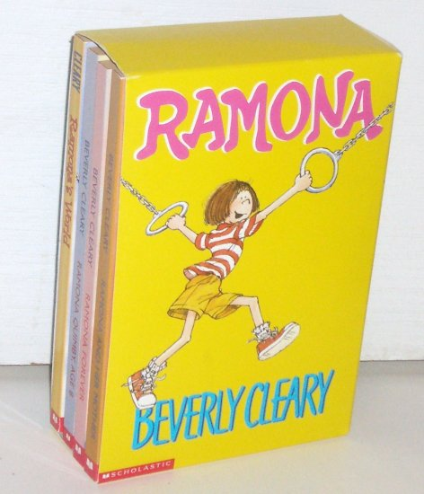 Ramona BOX SET of 4 by BEVERLY CLEARY 2000