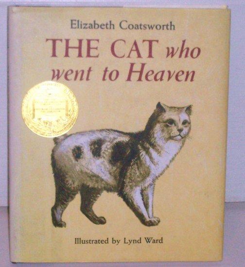 The Cat Who Went to Heaven ELIZABETH COATSWORTH Hardcover DJ 1970 Illustrated Newbery Medal Winner