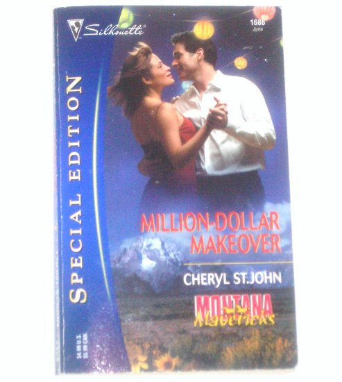 Million-Dollar Makeover Cheryl St. John ~ Silhouette Special Edition No 1688 Jun05 Montana Mavericks