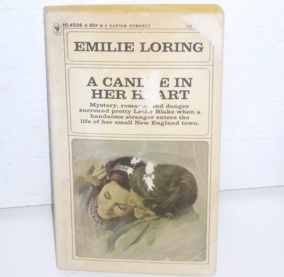 A Candle in Her Heart by EMILIE LORING Vintage Romance No. 26 1967