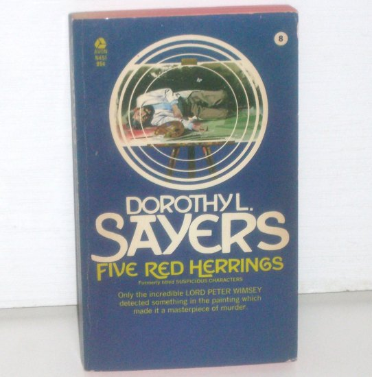 Five Red Herrings by DOROTHY L SAYERS Lord Peter Wimsey Cozy Mystery 1972