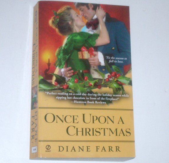 Once Upon a Christmas by DIANE FARR Signet Historical Regency Romance 2000