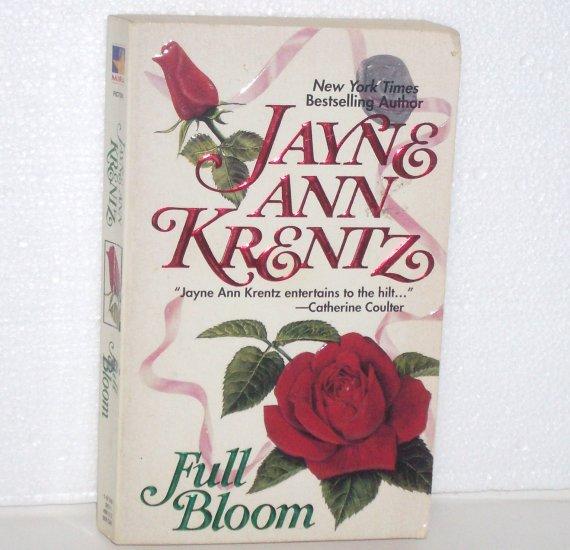 Full Bloom by JAYNE ANN KRENTZ Contemporary Romance 1987
