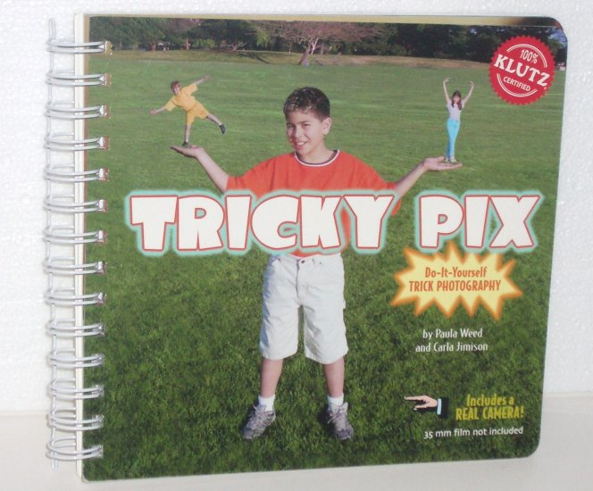 Tricky Pix: Do It Yourself Trick Photography a Klutz Book by Paula Weed