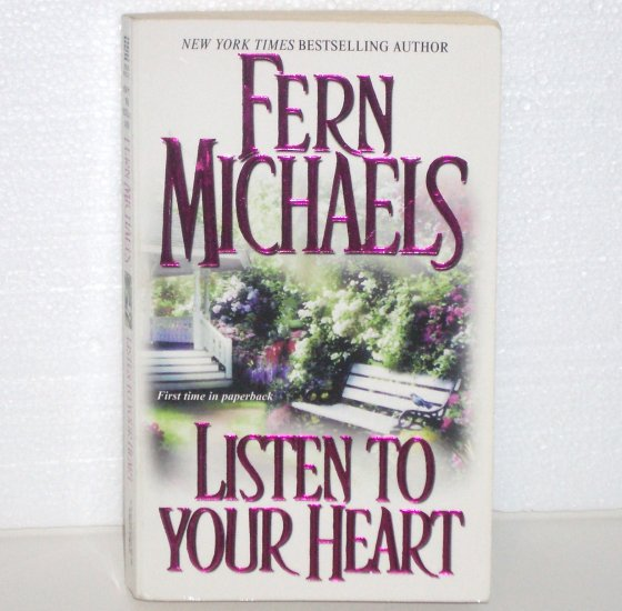 Listen to Your Heart by Fern Michaels Zebra Contemporary Ghost Romance 2004