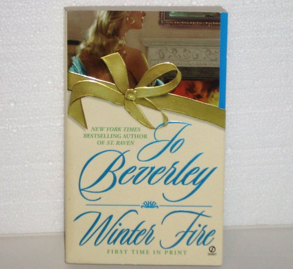 Winter Fire by JO BEVERLEY Historical Georgian Romance 2003