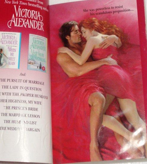 Let It be Love VICTORIA ALEXANDER Regency Romance 2005 Effington Family and Friends Series