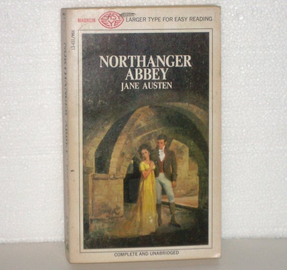 Northanger Abbey by JANE AUSTEN Historical Romance 1968 Magnum Large Print