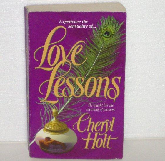 Love Lessons by CHERYL HOLT Historical Regency Romance 2001