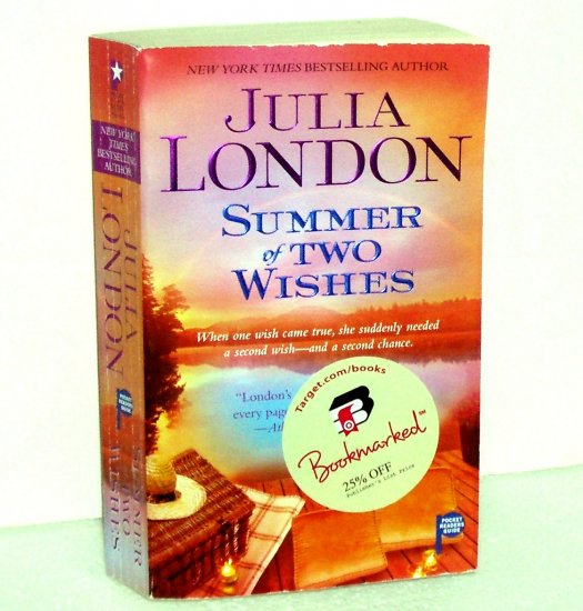The Summer of Two Wishes by JULIA LONDON Contemporary Romance 2009 Cedar Springs Series
