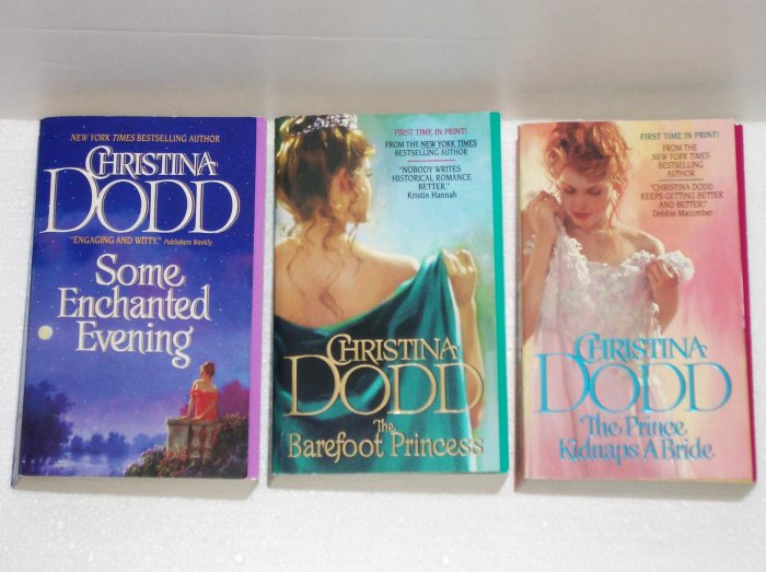 Complete Series: The Lost Princess by Christina Dodd Historical Scottish Romance