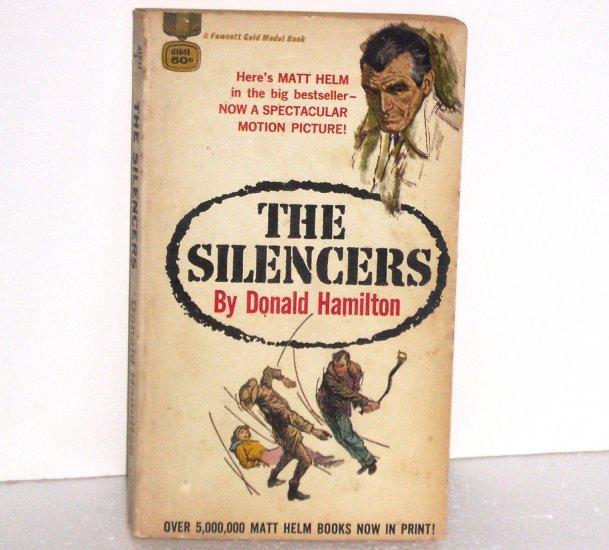 The Silencers by DONALD HAMILTON Thriller 1962 Matt Helm Series