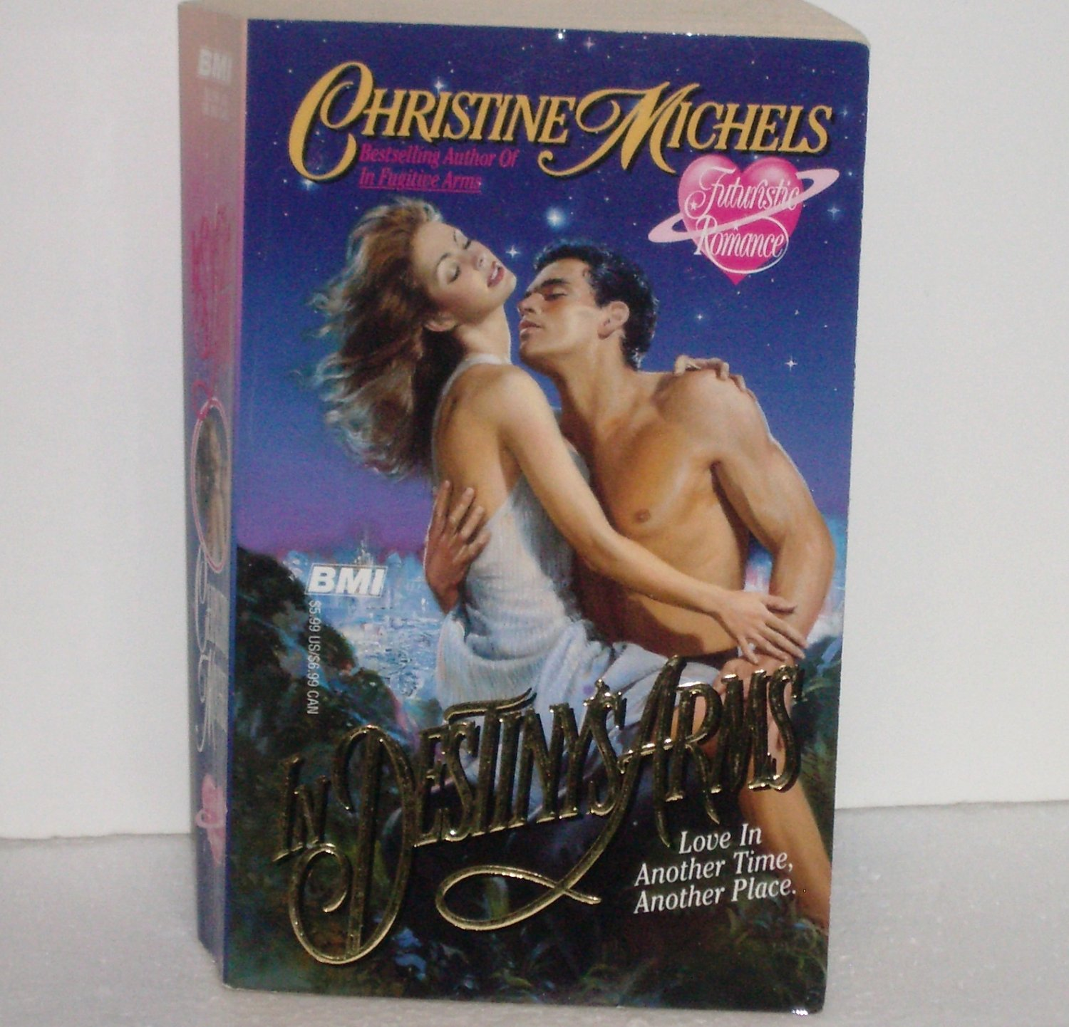 In Destiny's Arms by CHRISTINE MICHELS Paranormal Futuristic Romance 2006