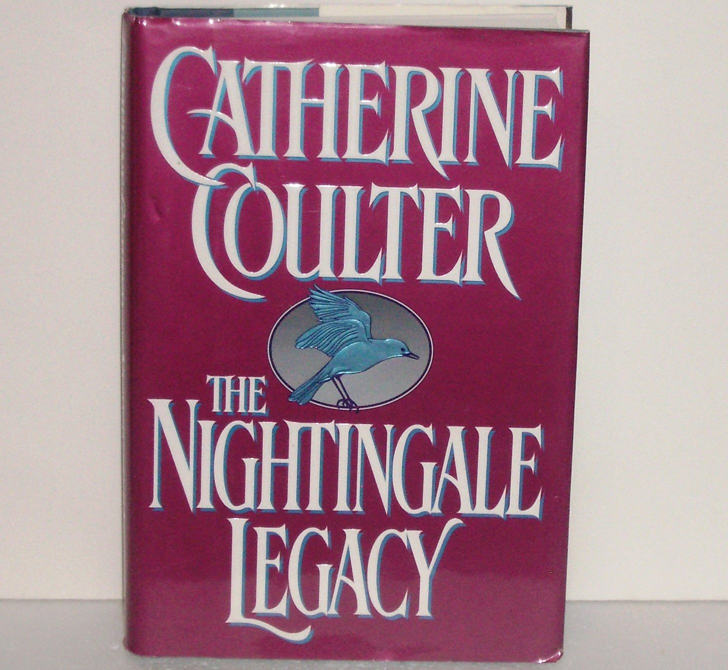 Nightingale Legacy CATHERINE COULTER Hardcover with Dust Jacket Regency Romance 1995 Legacy Series