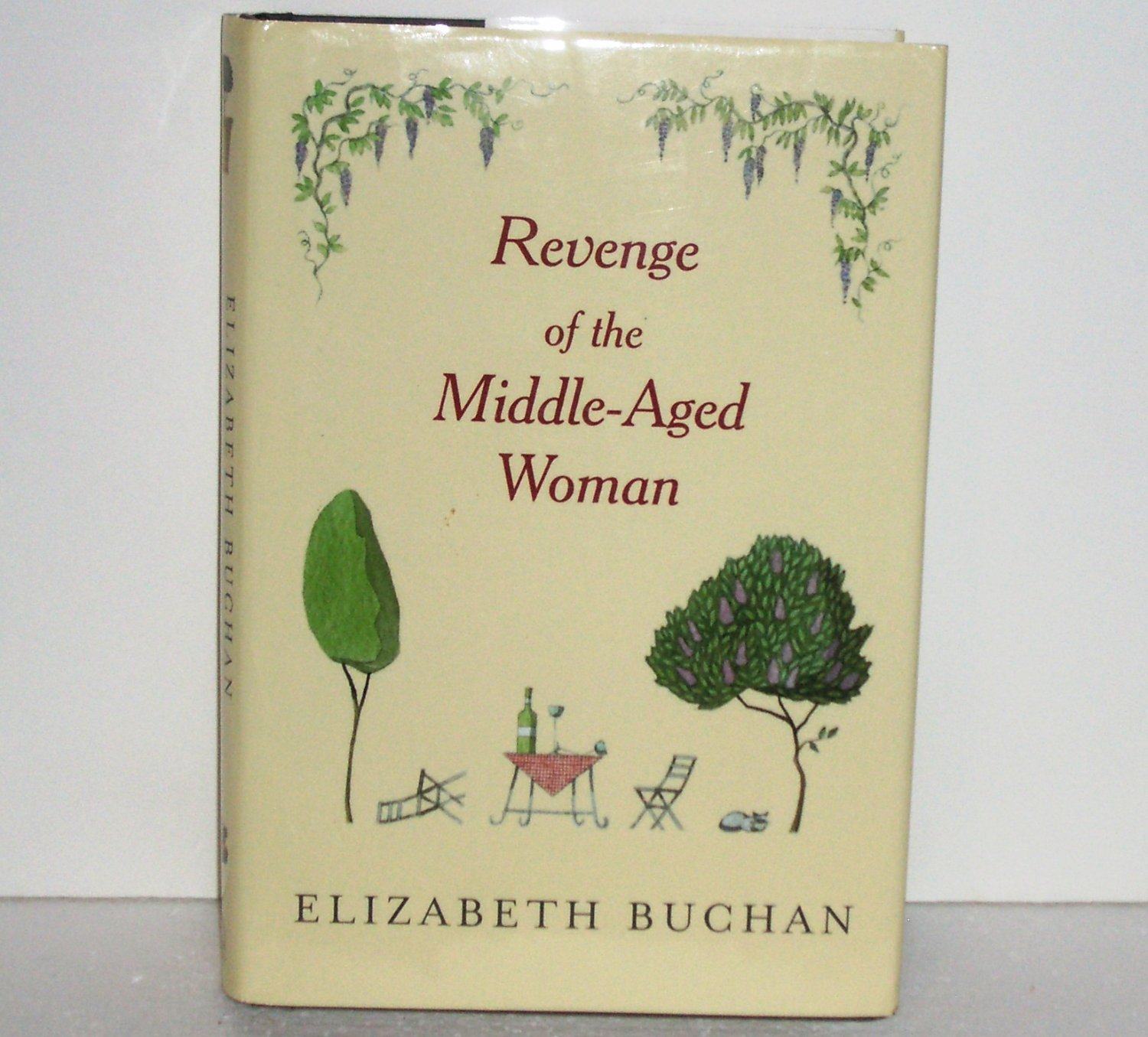 Revenge of the Middle-Aged Woman by ELIZABETH BUCHAN Contemporary Romance Hardcover Dust Jacket 2003