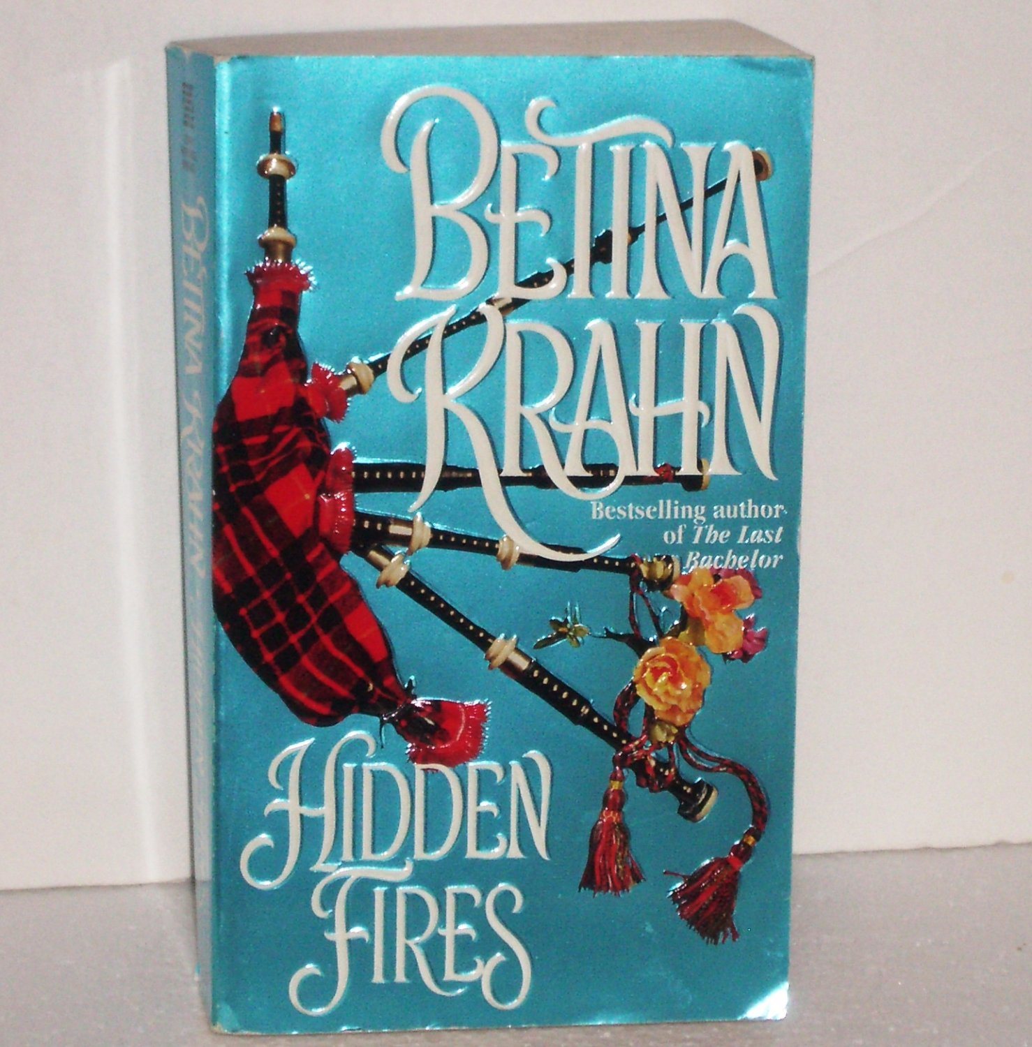 Hidden Fires by BETINA KRAHN Historical Scottish Romance 1995