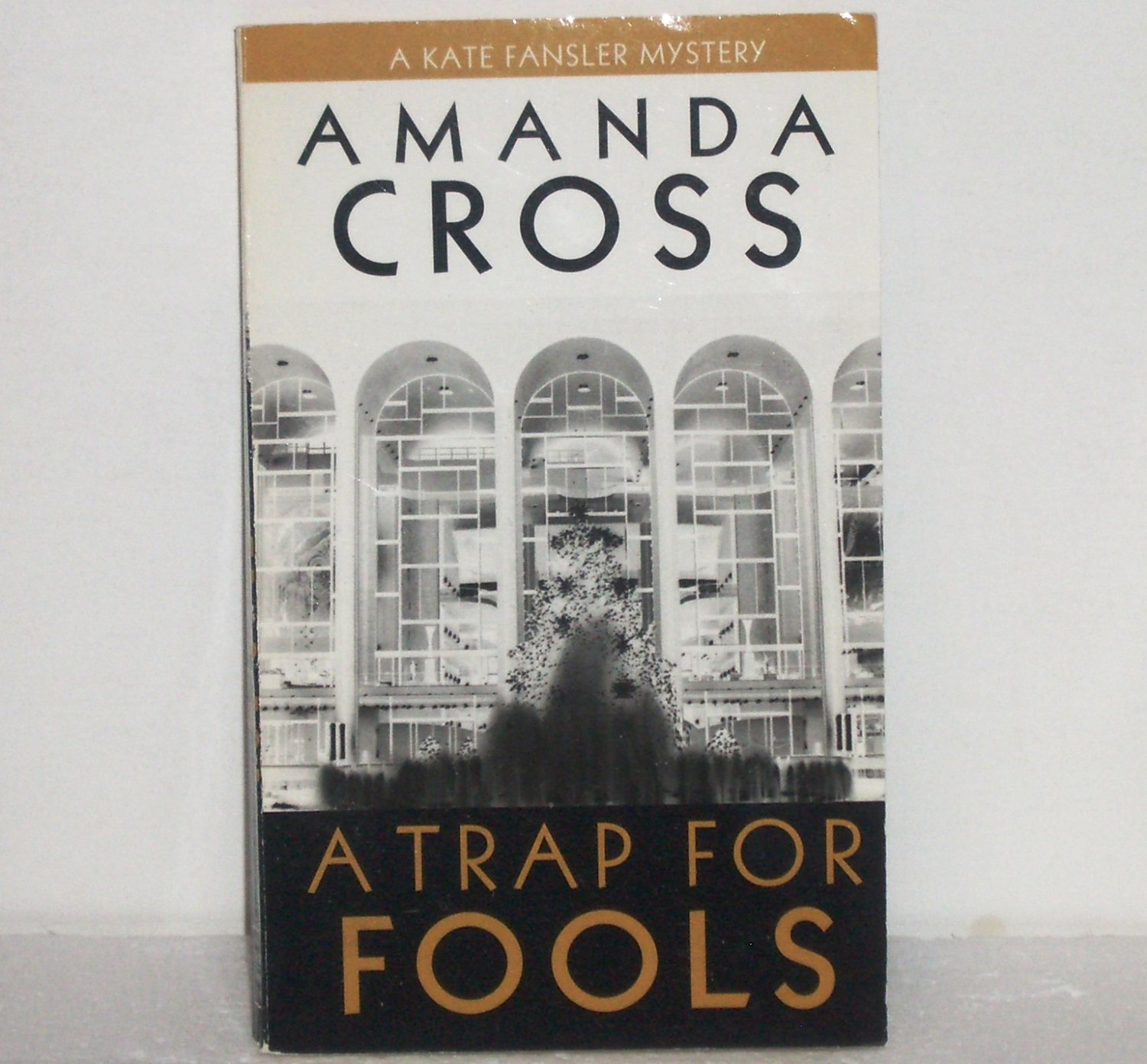 A Trap for Fools by Amanda Cross 1990 A Kate Fansler Cozy Mystery