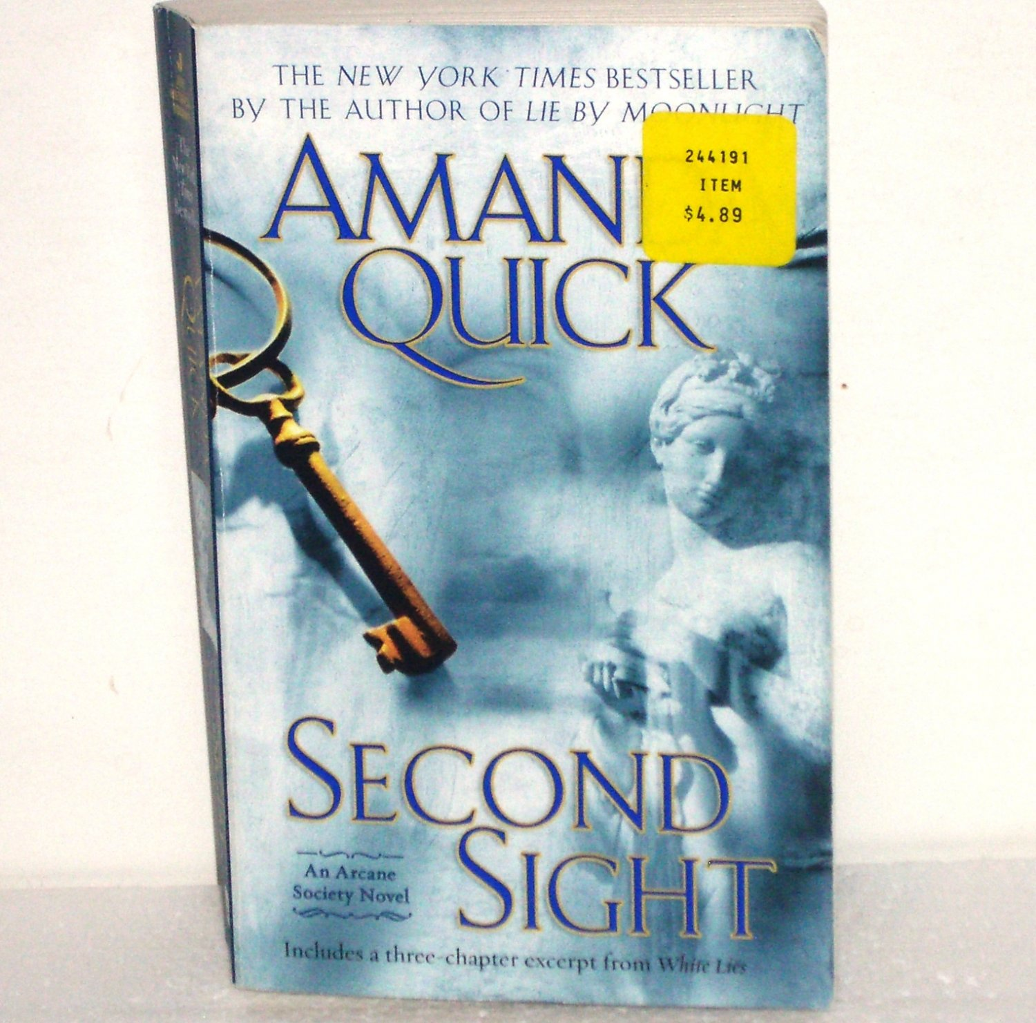 Second Sight by Amanda Quick Historical Regency Romance 2007 The Arcane Society Series