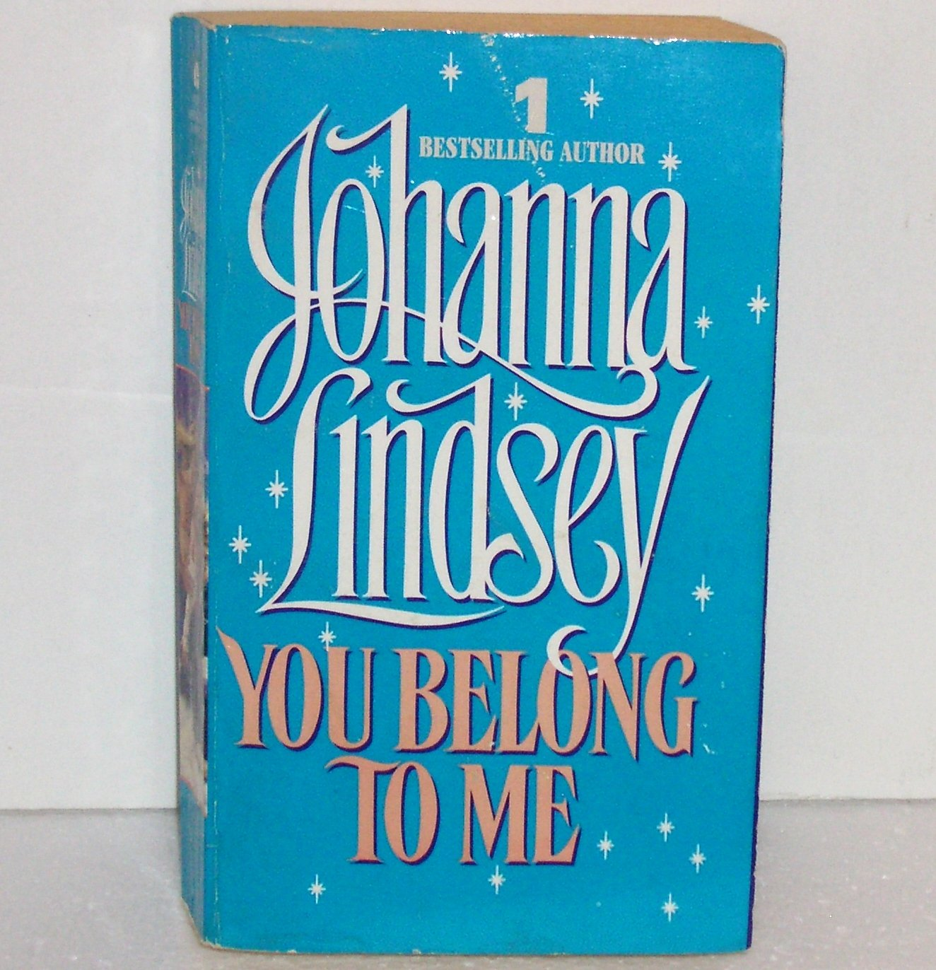 You Belong to Me by JOHANNA LINDSEY Historical Victorian Romance 1994 Cardinia Series