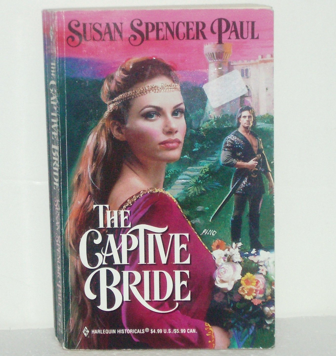 The Captive Bride by Susan Spencer Paul Harlequin Historical Medieval Romance 471 1999