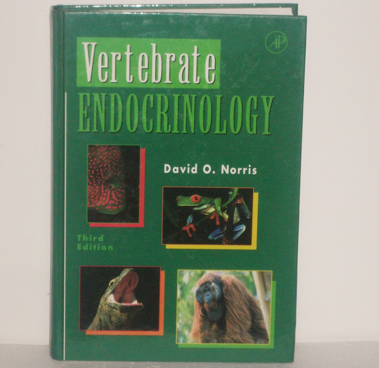 Vertebrate Endocrinology, Third Edition by DAVID O. NORRIS 1996 Hardcover