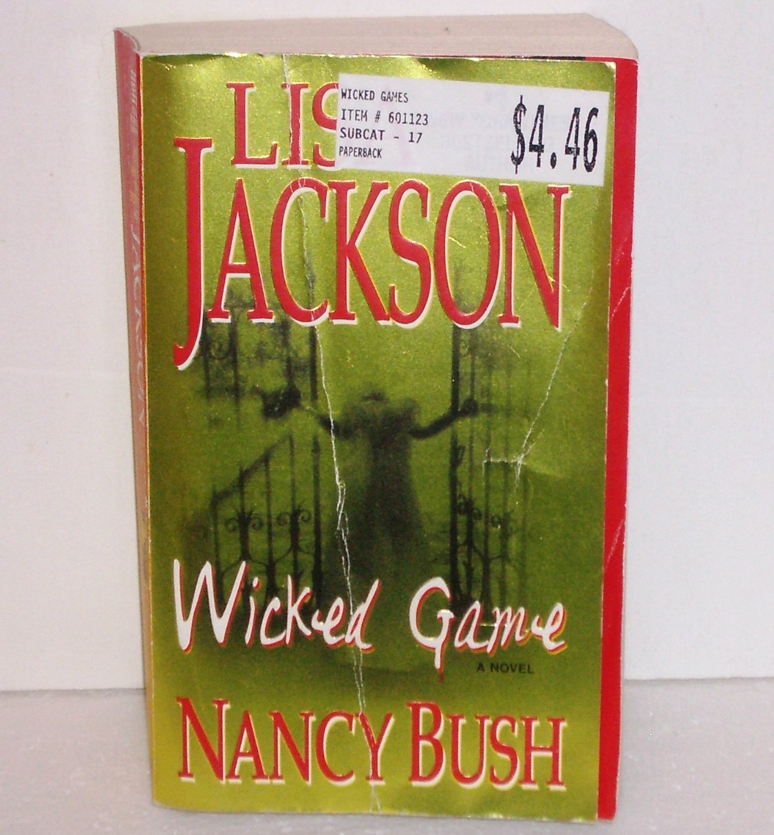 Wicked Game by Lisa Jackson Romantic Suspense 2009 The Colony Series