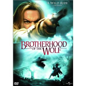 Brotherhood of the Wolf DVD Widescreen Edition Le Pacte Des Loups 2002