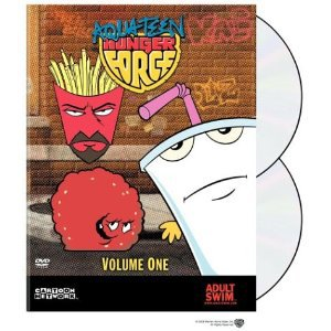 Aqua Teen Hunger Force Volume 1 DVD Cartoon Network Adult Swim