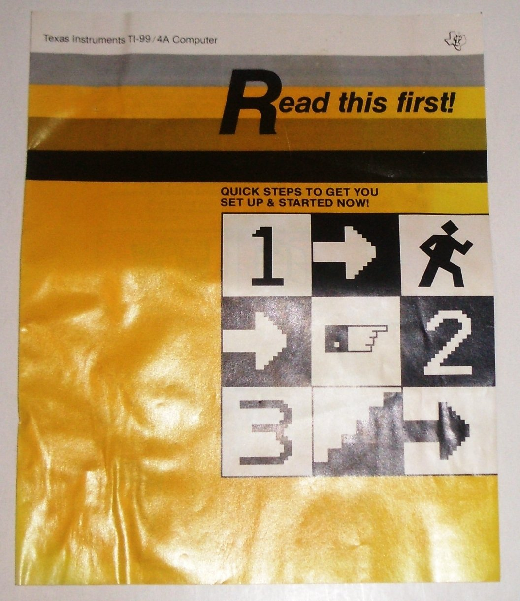 3 TI-99 Texas Instruments Catalogs 1989, Quick Start Guide, Specials Pamphlet
