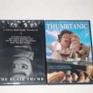 Thumbtanic & The Blair Thumb DVDs 2 Steve Oederkerk Thumbmotion Adventure Movies