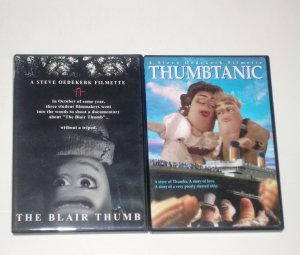 Thumbtanic & The Blair Thumb DVDs 2 Steve Oederkerk Thumbmotion Adventure Movies