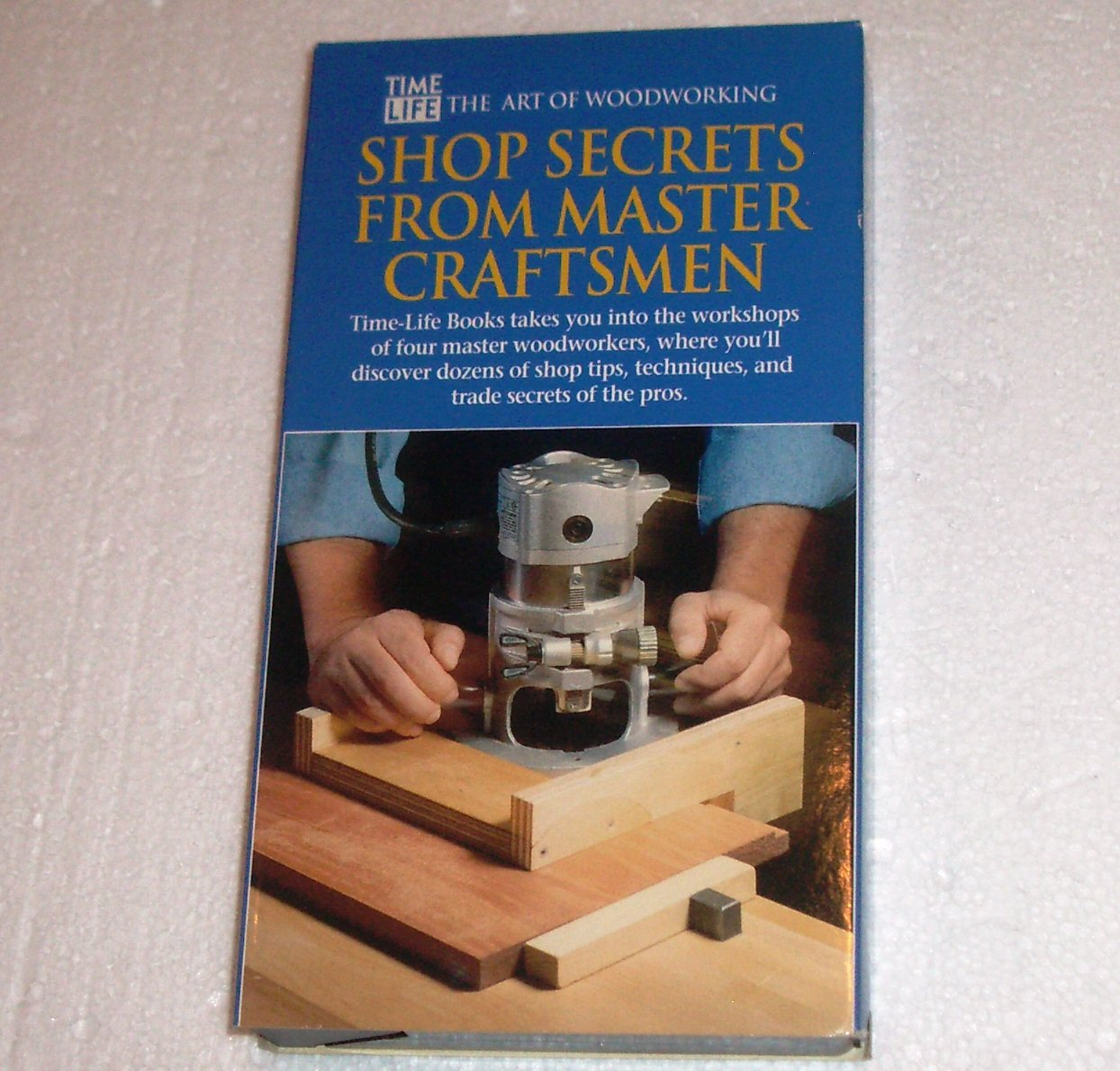 Shop Secrets from Master Craftsmen Time/Life Woodworking how-to series VHS