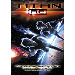 Titan A.E. Special Edition DVD 2000 Wide Screen Matt Damon, Drew Barrymore