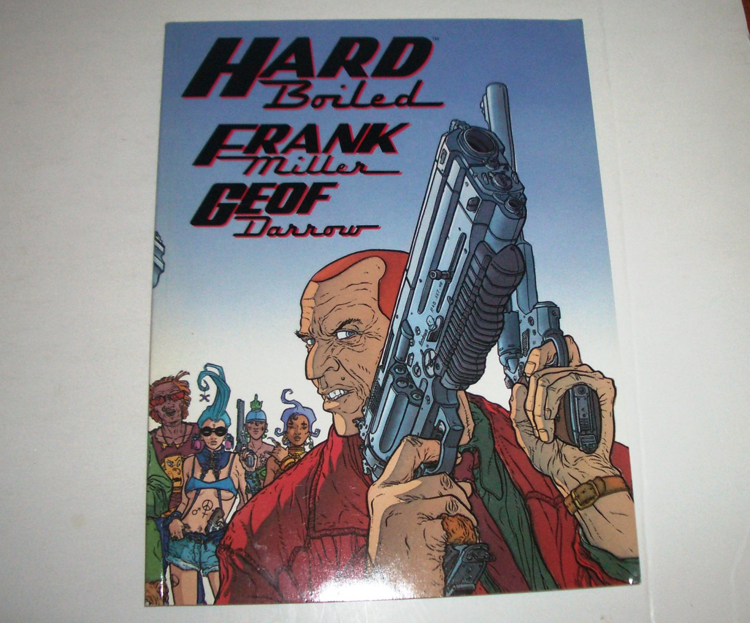 Hard Boiled by Geof Darrow 2000 Trade Paperback