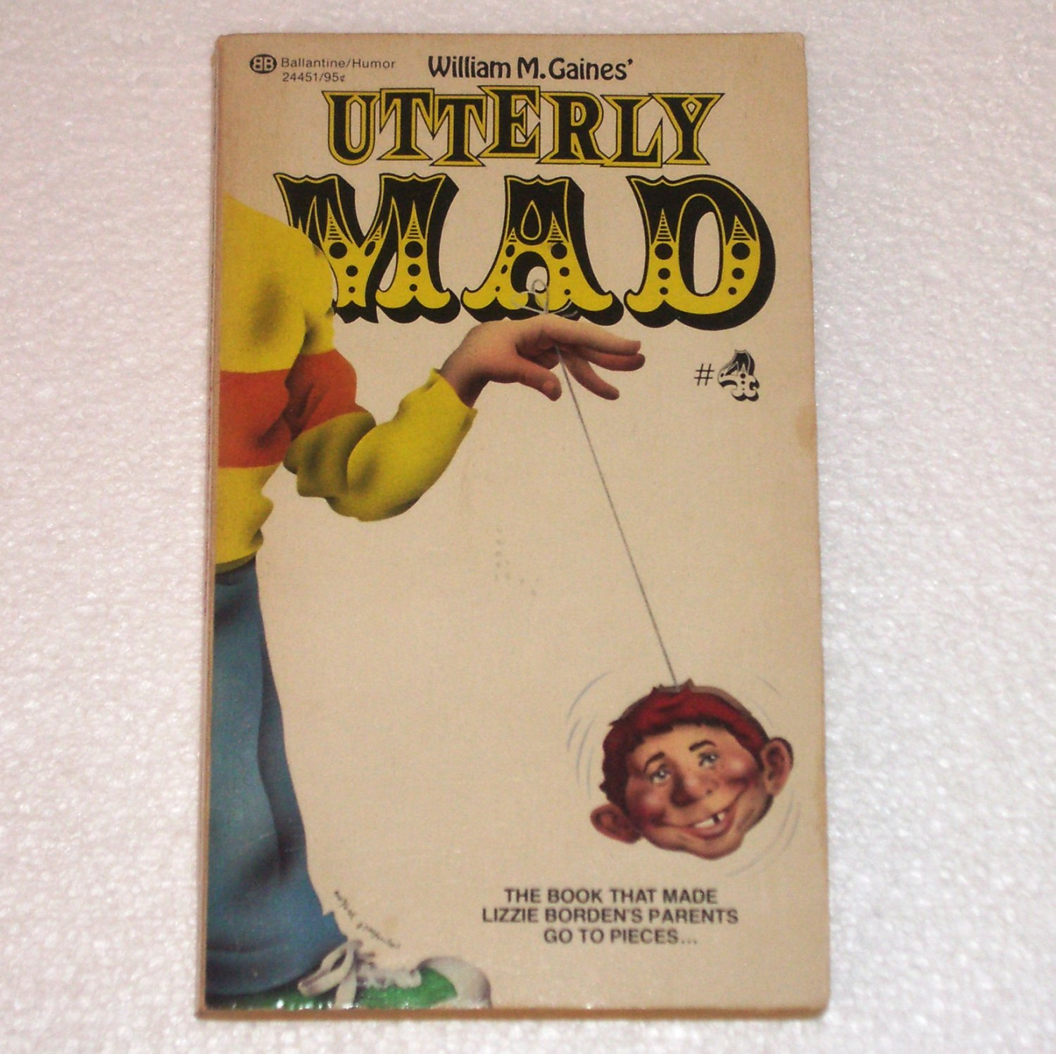 Utterly Mad # 4 1963 Ballantine 24451 William H. Gaines