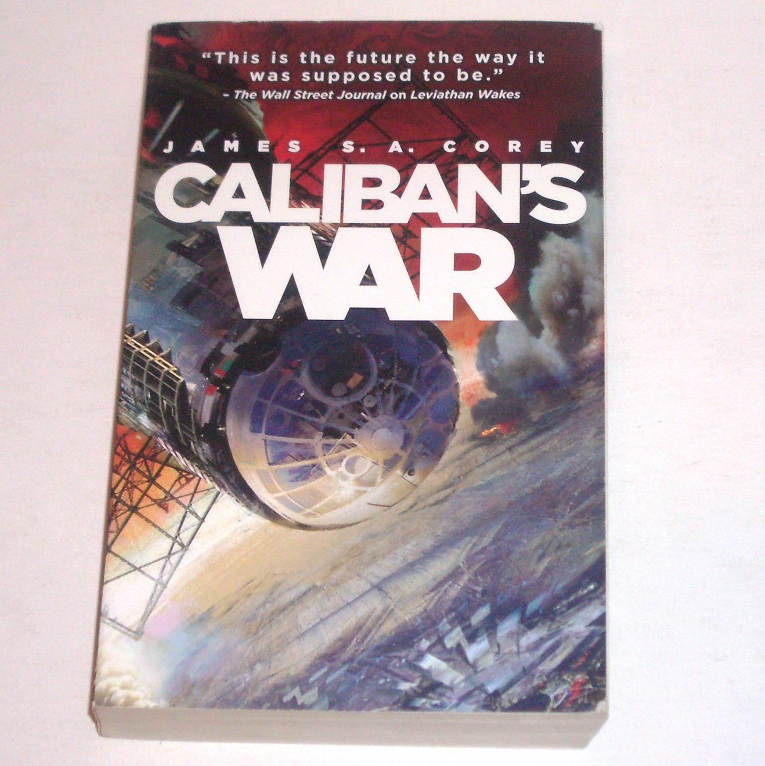 Caliban's War The Expanse by James S.A. Corey 2012 Trade Paperback