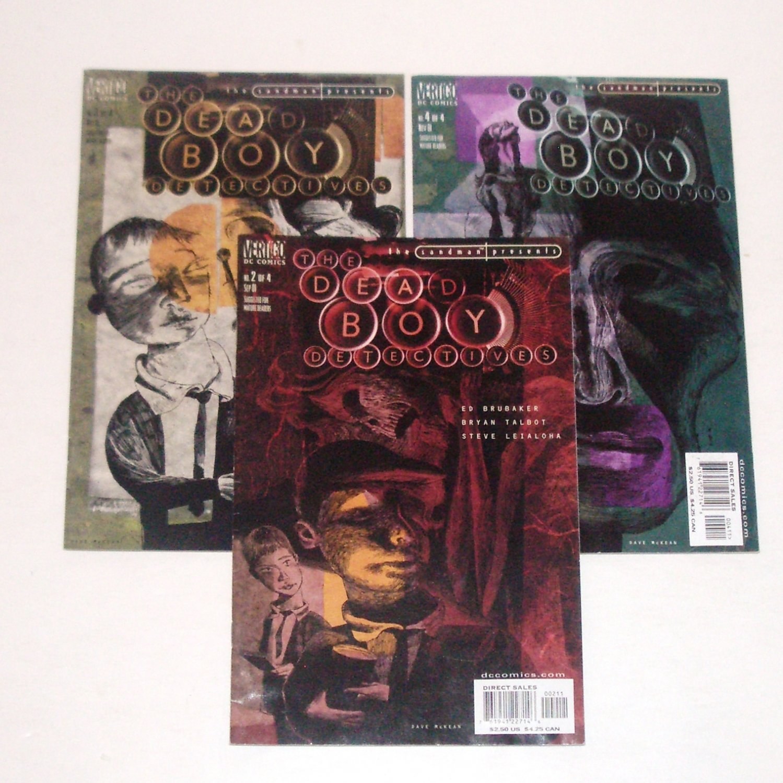 The Dead Boy Detectives Lot of 3 Sandman Presents Vertigo DC Comics 2,3,4