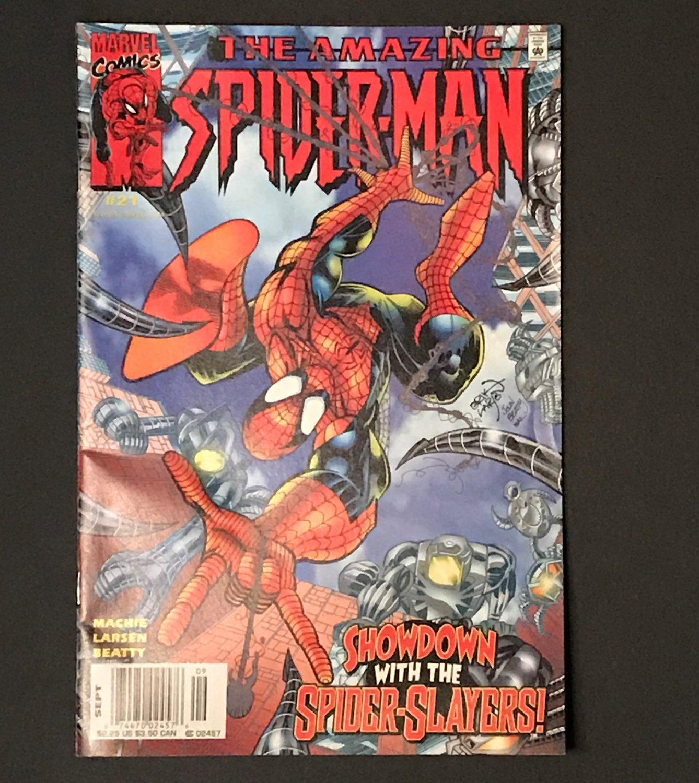 Amazing Spider-Man, Vol. 2, No. 21, September 2000 Showdown with Spider-Slayers