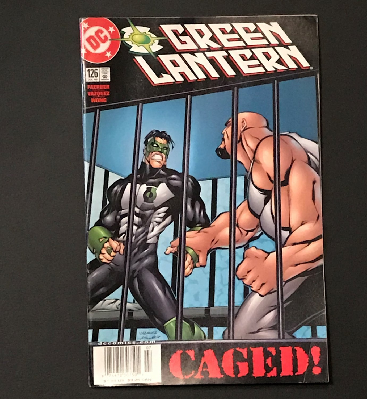 DC Comics Green Lantern #126 July 2000 Caged!