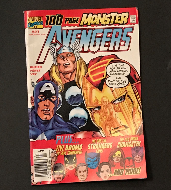 Marvel AVENGERS # 27, Vol. 3, April 2000, 100 page MONSTER