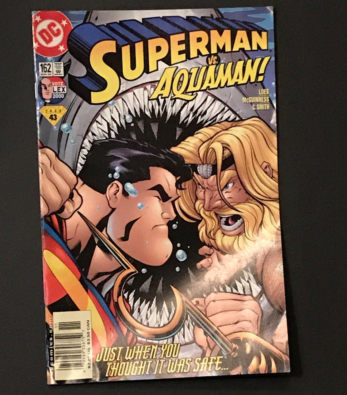 DC Comics Superman vs Aquaman #162 Nov 2000