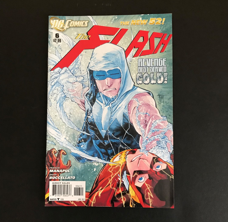 DC Comics The Flash (4th Series) #6 April 2012 Revenge Best Served Cold