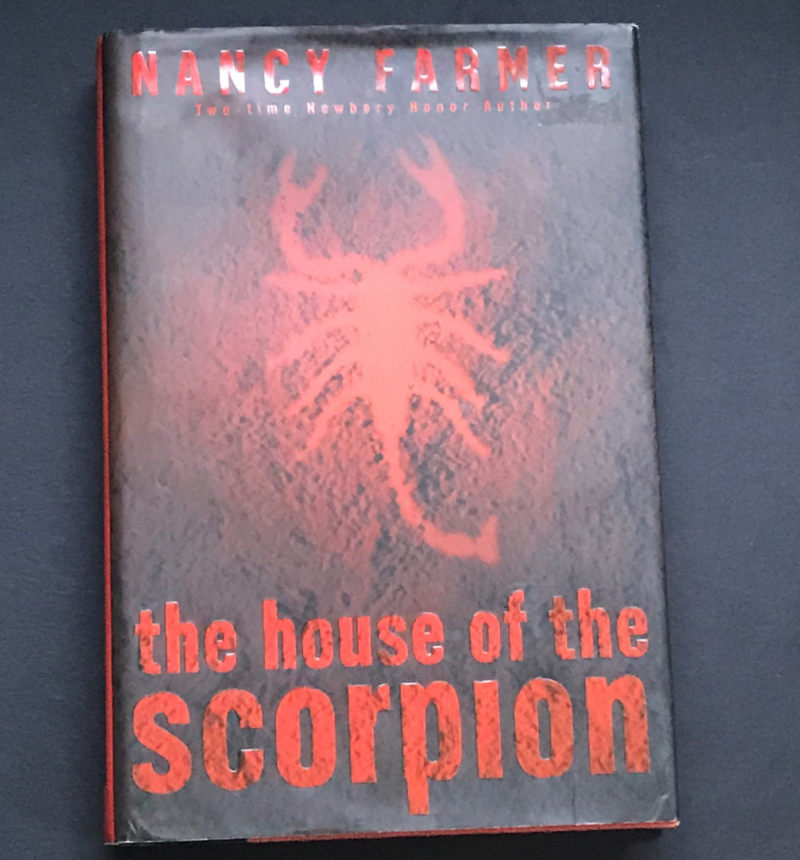 The House of the Scorpion by Nancy Farmer 2002 Futuristic Fiction 1st Ed HC/DJ