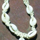 COWRY SHELL NATURAL FLOWER NECKLACE