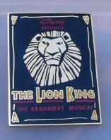 The Lion King Broadway Musical Pin disney