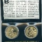 Jimmie Foxx proof coin baseball beast double xx