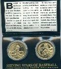 Jimmie Foxx proof coin baseball beast double xx