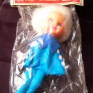 Vintage Knee Hugger Christmas Elf Ornament New